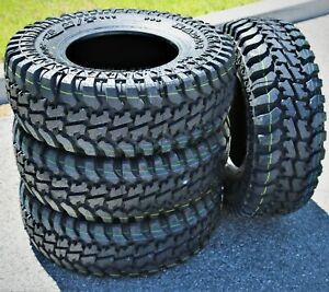 4 New Radar Renegade R5 M t Lt 31x10 50r15 Load C 6 Ply Mt Mud Tires