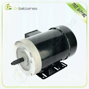 1 Hp Universal Motor Electric Motor 56c Frame 1800 Rpm Three Phase 3 8a 1 9a