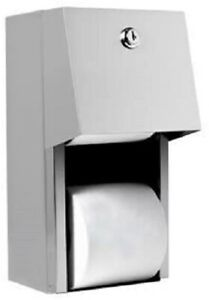 Ajw U840 Dual Hooded Toilet Tissue Dispenser With Auto Reserve Non controlled