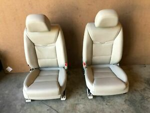 Gm Cadillac Xts 2013 2017 Oem Front Leather Power Chair Bench Seats Seat 25k
