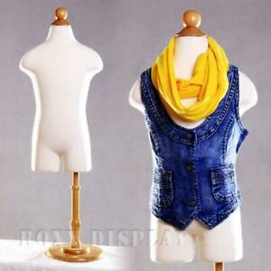 1 2 Year Old Children Kid Body Form Mannequin Dress Form Display jf 11c2t