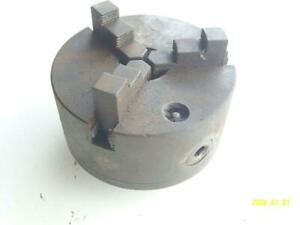 6 3 Jaw Chuck For Lathe 1 3 4 X8 Tpi Mount Skinner 3806 45