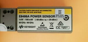 Keysight E8486a 60 90ghz Wr12 E band Waveguide Power Sensor Extended Pwr Range