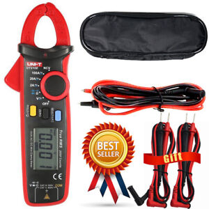 Uni t Ut210e Clamp Meter Digital Multimeter Handheld Rms Ac dc Mini Resistan
