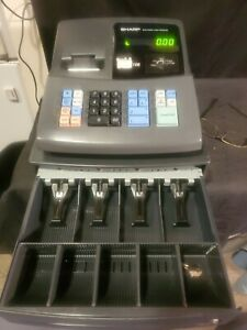 New Sharp Xe a106 Electronic Cash Register With Key Led Display