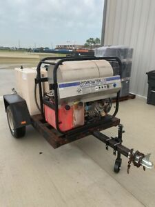 Pressure Washer Trailer Mounted 16 Hp