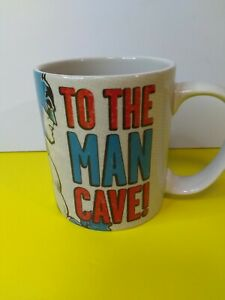 Batman Coffee Mug - To The Man Cave! - 12 OZ - Hallmark Only