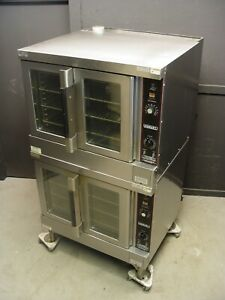 Hobart Convection Oven Hgc5 10 Series Full Size Double Stack Natural Gas