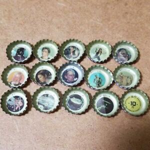 STAR WARS crown Coca-Cola Bottle Caps 15 pieces Showa Retro from Japan Goods!