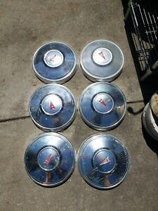 4 Pontiac Dog Dish Poverty Hub Caps Lemans T 37 Gto 70 S 80 S 10 1 4 Inch