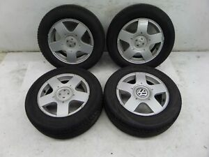 Vw Jetta 15 Golf Wheels Mk6 11 14 Oem 5 X 100 Good Tires