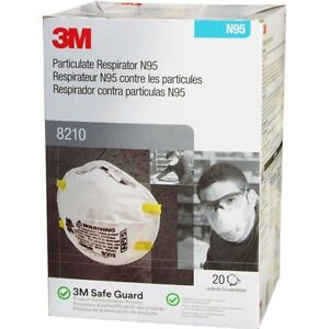3m8210 N Grade 95 Brand New Box Of 20 Exp 2025