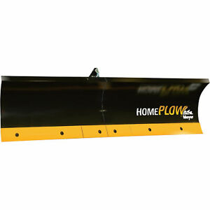 Home Plow By Meyer Snowplow Manual Lift Auto angling 80in Model 23150