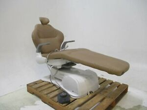 Belmont X calibur V Dental Exam Chair Operatory Tan Vinyl Caregiving Furniture