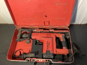 Hilti Te 92 Hammer Drill 4 Bits Great Working Condition