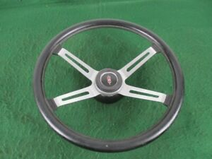1970 1972 Oldsmobile Cutlass 442 4 Spoke Sport Steering Wheel Black Oem