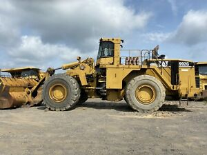Caterpillar 992g Wheel Loader 42 295 Hours 2008