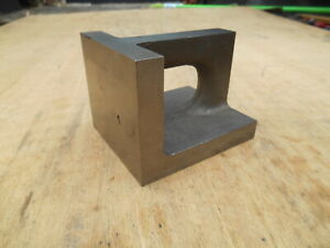 Machinists Right Angle Block 3 X 4 X 3 1 2 w Nom