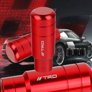 Jdm Trd Racing Gear Red Shift Knob Shifter For Mt Toyota M8 M10 M12 9cm