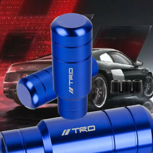 Jdm Trd Racing Gear Blue Shift Knob Shifter For Mt Toyota M8 M10 M12 9cm
