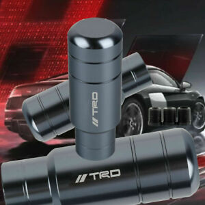 Jdm Trd Racing Gear Gray Shift Knob Shifter For Mt Toyota M8 M10 M12 9cm