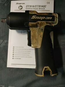 Snap On Ct761 3 8 Drive 14 4 Volt Microlithium Impact Wrench Tool Only New