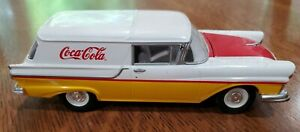 COCA COLA JOHNNY LIGHTNING 1957 FORD PANEL DELIVERY RC2