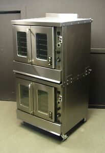 Montague 2 115a Series Bakery Depth Double Stack Gas Convection Oven