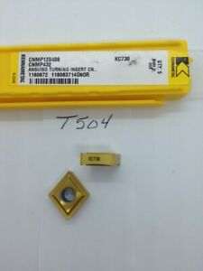 5 New Kennametal Cnmp 432 Carbide Inserts Grade Kc730 t504