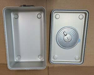 Case Medical Steritite Solid Sterilization Container With Lid 18 1 X11 X6 Sc06q