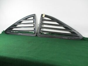 1976 1979 Plymouth Volare Dodge Aspen R T Side Outer Window Louver Lh Rh Oem