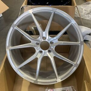 Used 20x8 5 Asanti Abl13 5x114 3 38 Brushed Silver Wheel 1