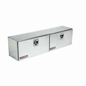 Weather Guard 372 0 02 High side Truck Tool Box Silver Aluminum 8 9 Cb ft