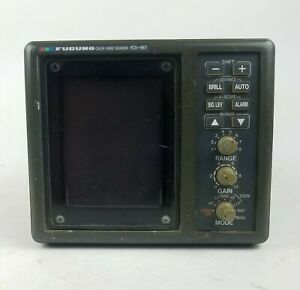 Furuno FCV-667 Color Sounder Display Depth Sounder Fish Finder - Head Unit Only