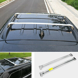 Fit For Jeep Grand Cherokee 2011 2020 Silver Car Top Roof Cargo Rack Cross Bars