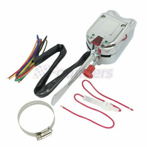 Chrome 12v Universal Street Hot Rod Turn Signal Switch For 53 80 Ford F 250 Gm