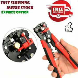 Automatic Wire Stripper Tool Crimper Pliers Cutter Professional Terminal Tool Us