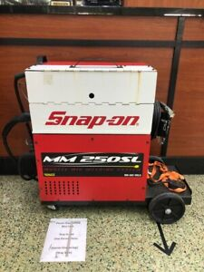 Snap on Mm250sl Red white Gas Welder With Torch Gun