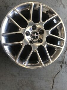 18 Ford Mustang 2012 2013 2014 Polished Oem Factory Original Alloy Wheel Rim