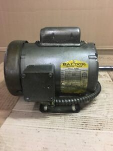 L3501 1 3 Hp 1725 Rpm New Baldor Electric Motor