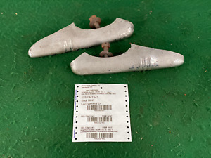 1941 41 Chevrolet Bumper Guards Rear Pair Oem