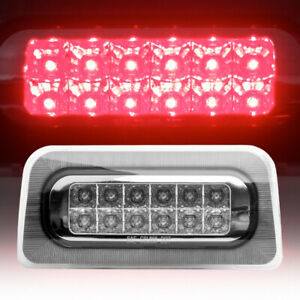 For 1994 2003 Chevy S10 gmc Sonoma Led 3rd Third Tail Brake Light lamp Red Clear