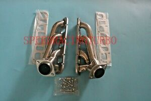 Exhaust Header Manifold For 05 20 Charger Chrysler 300c 5 7l Hemi Shorty Pair