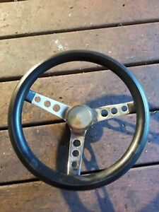 1969 1994 Camaro Grant Black And Chrome Steering Wheel 13 1 2