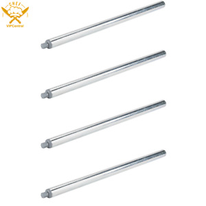 4 pack Replacement 32 1 4 In Steel Leg For Work Tables Galvanized Legs