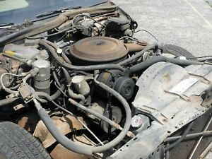 1986 Oldsmobile 307 Cid 4v Engine 200 4r Transmission Complete And Running