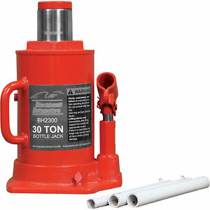 Blackhawk Automotive Bottle Jack 30 Ton Bh2300