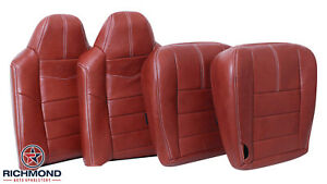08 10 Ford F250 F350 King Ranch Driver Passenger Complete Leather Seat Covers
