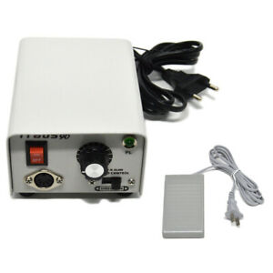 Dental Lab 35k 35000 Rpm Mini Marathon Strong 90 Micromotor W Foot Pedal Switch