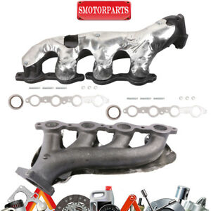 Lh Rh Exhaust Manifold Kit For Chevy Silverado Suburban Gmc Sierra 1500 2500